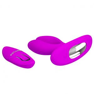 12-Function Vibrations Remote Control USB Rechargeable Vibrator