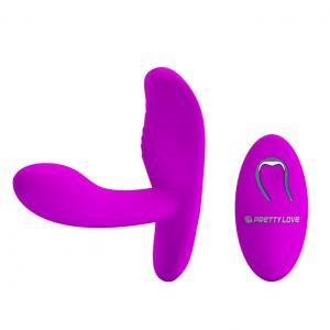 12-Function Vibrations Silicone Remote Controlled Vibrator