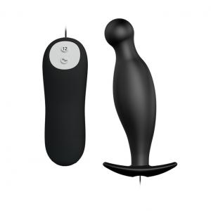 12 Speed Silicone Anal Butt Plug