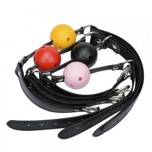Adjustable SM Game Unisex Mouth Fetish Restraint Ball