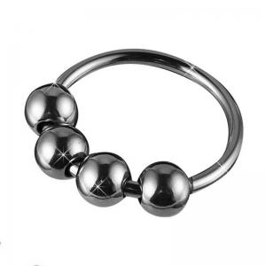 Metal Man Penis Ring Sleeve Impotence Erection Sex Toys Sex Toys For Couples