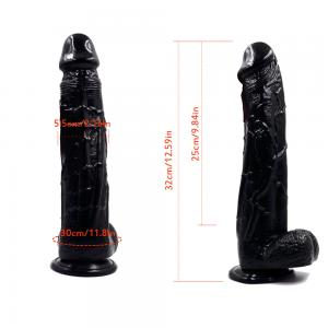 Realistic Dildo Lifelike Big Real Dong Suction Cup Waterproof Women Play