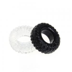 Tire Type Silicone Delay Ejaculation Cock Ring