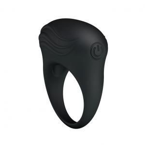 Vibrating Stretchy Silicone Cock Ring Vibrator